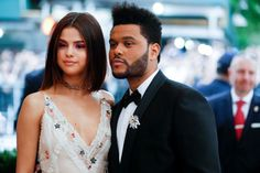 May 1: Selena and The Weeknd attending the 2017 Met Gala in New York City.