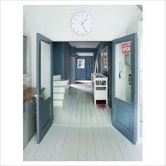 school hallway house