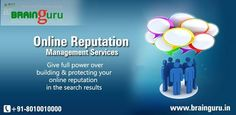 #Brainguru_Technologies a tech savvy company, offers a complete #online_marketing_solution to manage and maintain outstanding online reputation for your company through its excellent #Online_Reputation_Management_Services in India.  www.brainguru.in