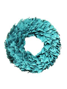 Turquoise Wreath by The Magnolia Company at Gilt