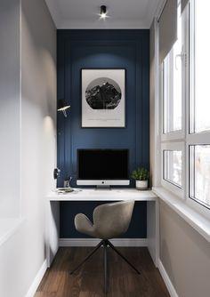 Home Office Design Diy Design Room, Home Study Design, Deco Design, Design Desk, Home Office Space, Home Office Desks, Home Office Furniture, Office Decor, Furniture Ideas