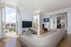City apartment with Paris city view