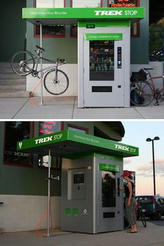 Bicycle service and parts kiosk - Cyclelicious