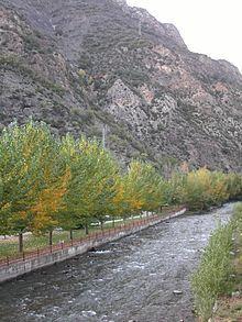 Andorra la Vella, Andorra || Gran Valira flowing through Sant Julia de Loria