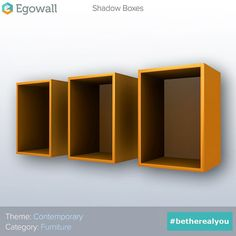 Contemporary Furniture: Shadow Boxes  #contemporary #furniture #shadowboxes #display #transparent #glass #interior #design #interiordesign #decor #interiordecor #3d #object #game #games #gamer #gaming #videogame #videogames #gamedev #therealyou