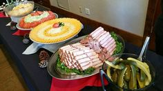 Partying really works up an appetite. How about a tasty build your own sandwich bar?