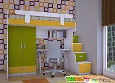 Genç Odası - Ranza Modelleri - Çalışma Masalı Ranza Modelleri