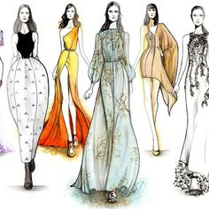 « Ready-to-Wear SPRING 2015 Part II by #GRACIANOfashionillustration »