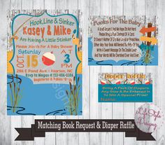 fishing baby shower invitation fish theme its a boy baby shower invitation boy baby shower baby boy on the way printable