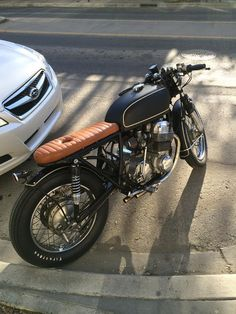 1975 Honda CB750 Brat Style -Photo by Kaetyn St. Hilaire #motorcycles #bratstyle #motos | caferacerpasion.com