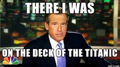 brian williams memes | ... been a pleasure..... | Brian Williams Misremembers | Know Your Meme