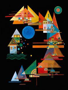Spitzen im Bogen - Wassily Kandinsky - IG 7359