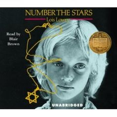 Number the Stars, by Lois Lowry, the 1990 Newbery Medalist, was challenged in a middle school for sexual content or nudity; violence or horror; and offensive politically, racially, socially, or to religious sensitivities.  An alternate book was allowed, according to American Civil Liberties Union of Texas 2011-12 annual report, Free People Read Freely, on books challenged in Texas public and charter school libraries and class reading lists during the previous school year. PZ7 .L9673 NU 1989.