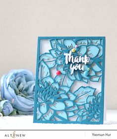 Altenew Card Kit/Layering Dies Release Blog Hop + Giveaway | RejoicingCrafts