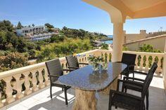 Schönes sonniges #Ferienhaus direkt am Strand in der #CalaMendia.
