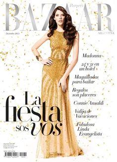 Harper's Bazaar Argentina December 2013 Cover
