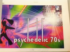 Psychedelic 70s Event Flyer