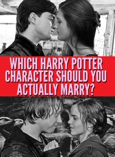 Which Harry Potter Character Should You Actually Marry
