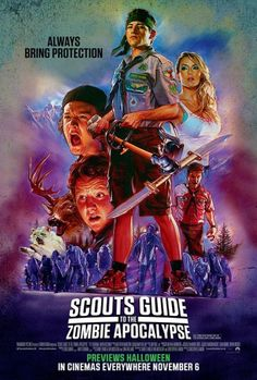 010 Scouts Guide to the Zombie Apocalypse [31/10/15] - #### - Well judged.