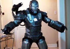 War Machine - Iron Man 2 Cosplay @ cosplayparadise.net