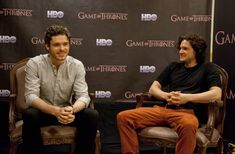 richard madden / kit harrington