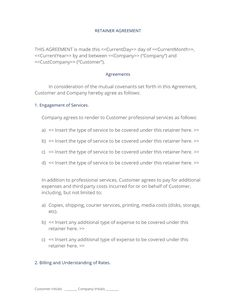 Equipment Rental Agreement  This Is An Agreement Used When
