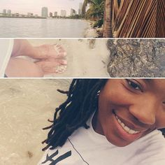 Finally...I have experienced beach; and it is good.  A beautiful way to end a worshipful day. XoXo -Mer  #WearThePromise #Hers #AllforHisGlory