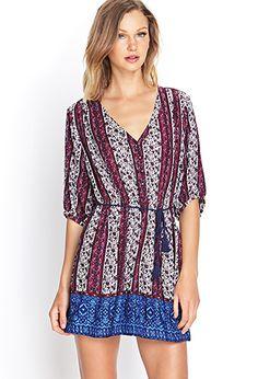 Boho-Inspired Shirt Dress   FOREVER 21 - 2000123431
