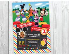 Mickey Mouse Clubhouse Birthday Party by YourMainEventPrints