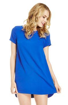 Zippered Shift Dress. Shop now at DailyLook!
