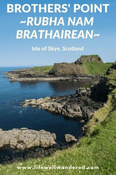 If you're looking to get the Isle of Skye in Scotland to yourself, hike Rubha nam Brathairean, or Brothers' Point. Brothers' Point is a breathtaking hike that will make you feel like the only person on the Isle of Skye. It is a best hike in Scotland and has incredible views of Scotland. #Scotland #IsleofSkye #RoadTrip