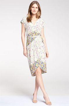 Presley Skye Digital Print Silk Crêpe de Chine Dress | Nordstrom