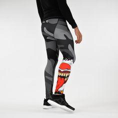 Evil Clown Mask compression tights / leggings