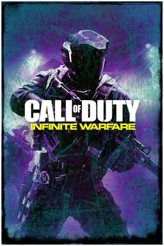"Abstract Grunge Call of Duty   Infinite Warfare   Poster Art Print   24"" x 36"""