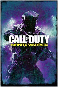 "Abstract Grunge Call of Duty   Infinite Warfare   Poster Art Print   24"" x 36"""