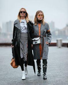 "streeTrends on Instagram: "": @thestylestalkercom #nyfw #fw18 #ootd #style #fashion #chic #elegant #style #streetstyle #fashionable #fashionblogger #stylish…"""