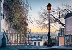 Montmartre...its village atmosphere, its painters and its paved streets.