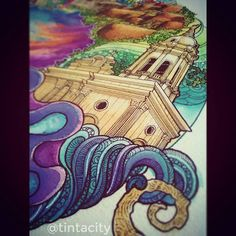 Here's a preview of the Antequera Church. I've got to finish this soonest and yet here I am writhing in pain from dysmenorrhea.  #wip #watercolours #prang #church #bohol #pinas #beach #doodleart #doodle #draw #drawings #architecture #imaginariart #imaginationarts #instaart #instartist_ #instadraw #theartshed #artFido #arts_help #artistsmuseum #worldofartists #art_quality #artofdrawing #spotlightonartists #Art_Spotlight #artmagazine #artistsdrop #artsanity