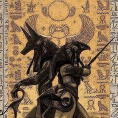 Egyptian Tattoo Sleeve, Egypt Tattoo, Egyptian Symbols, Ancient Egyptian Art, Egypt Concept Art, Egyptian Drawings, Anubis Tattoo, Dragon Tattoo Drawing, Cute Fantasy Creatures