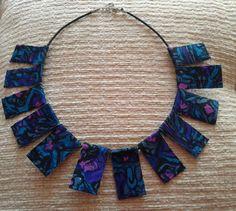 necklace multi colored