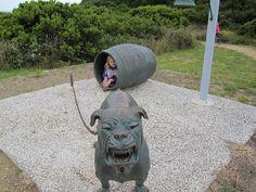 The Dog Line, Eaglehawk Neck, Tasman Peninsula #Tasmania