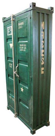 Yeah, ich habe endlich einen Schrank im Industrial Chic Style gefunden. Feels ideal for Durban