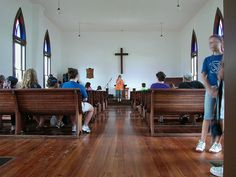 Inside Homeland Methodist Church At Heritage Park Polk County Florida