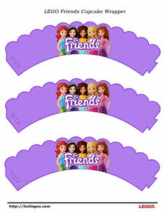LEGO Friends Cupcake Wrapper