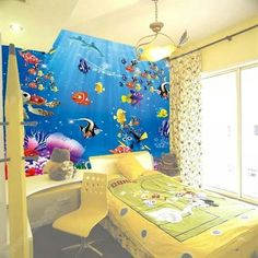 Bedroom ideas for Nemo fans