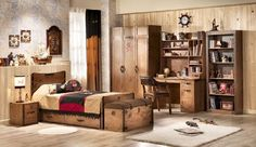Pokój dla chłopca lubiącego tematykę związaną z poszukiwaczami przygód oraz pirackimi czasami :)