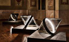 WonderGlass Launches New Lighting Collections during Milan Design Week 2017 Milan Design Week 2017, Team Wallpaper, Glass Installation, Wallpaper Magazine, Unique Lighting, Lighting Design, Showcase Design, Leaded Glass, How To Make Light