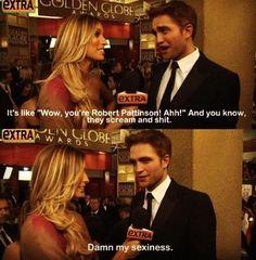 Rob Pattinson so funny!