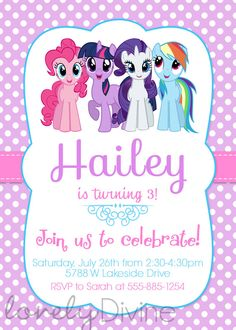 Este Articulo No Esta Disponible Fiesta Little PonyLittle Pony CakeInvitaciones My