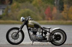 Clean and simple Triumph. What do you guys think? - More at Choppertown.com
